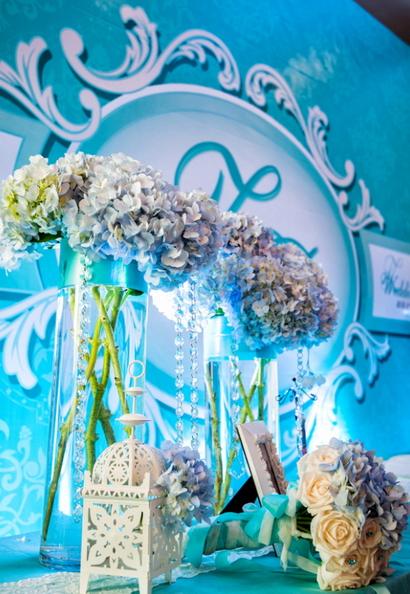 Tiffany蓝 游轮婚礼